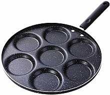 CANDeal Aluminum 7-Cup Egg Frying Pan Non Stick