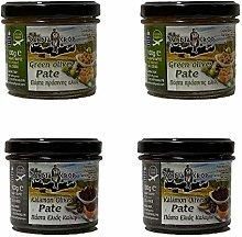 Candia Crop Greek Olive Paste Set 200 g: 2 X Green