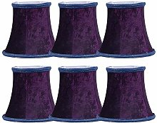 Candle Chandelier Lampshade DULEE Set of 6 Clip On
