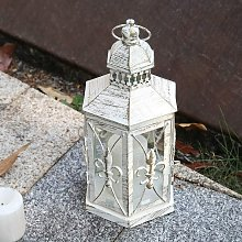 Candle Lantern, 10.2 Inch Chandelier Chic Style