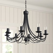 Candle Style Chandelier Three Posts