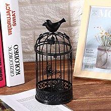 Candlestick Holders Cage Shape Decorative Birdcage