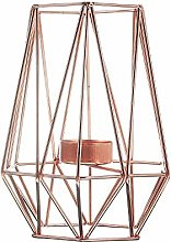 Candlesticks Geometric Candlesticks Metal Iron