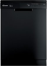 Candy CF 6F52LNB Full Size Dishwasher - Black