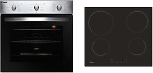 Candy COEHP60X Ceramic Hob with Electric Oven Pack