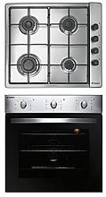 Candy Coghp60X 60Cm Electric Single Oven &Amp; Gas