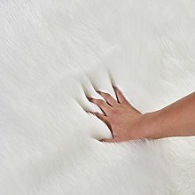 Candy Color Fur Cushion for Sofa Couch Office