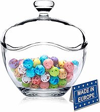 Candy Jars for Candy Buffet, Candy Dish with Lid,