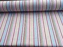 Candy Stripe Cotton Pink 140cm Wide Curtain/Craft