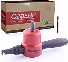 CaNibble Drill Attachment Nibbler, for Flat &