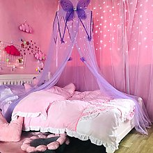 Canopy Girls Room Reading Round Dome Butterfly