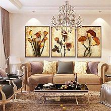 Canvas Art Oil Painting Flower Painting Decoration