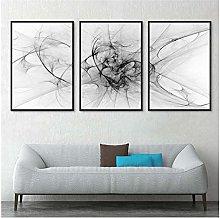 Canvas artwork 40x50cm 3Pieces NO Frame Golden
