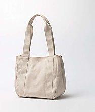 Canvas Big Bag Female Vegetable Basket Female Bag
