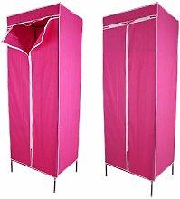 Canvas Cupboard, Canvas Wardrobe Single Fabric