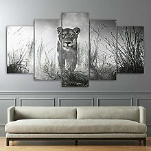 Canvas For Painting 5 Piece Canvas Wall Art For