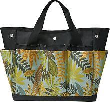 Canvas gardening tool bag, heavy gardening bag,