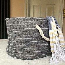 Canvas Open Storage Basket Small Bedroom Ideas