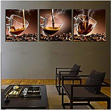 Canvas Picture Print Painting Wall Art Coffee Cup
