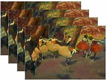 Canvas placemat Edgar Degas – Before The