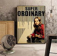 Canvas Poster Tv Series The Umbrella Academy Retro