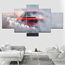 Canvas Print 5 Piece Canvas Wall Art For Living