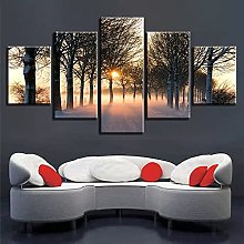 Canvas print For Living Room Modern Wall Art 5