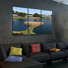 Canvas Print Wall Art For Living Room Decor 17Th