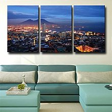 Canvas Print Wall Art For Living Room Decor City