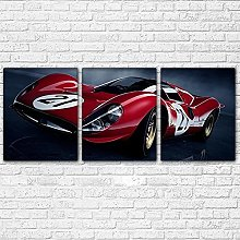Canvas Print Wall Art For Living Room Decor Red