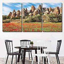 Canvas Print Wall Art For Living Room Decor Rock