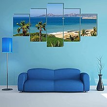 Canvas Print Wall Art Picture For Home Decor Beach