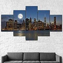 Canvas Print Wall Art Picture For Home Decor City