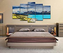 Canvas Print Wall Art Picture For Home Decor Lake