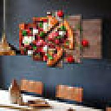 Canvas Print Wall Art Picture For Home Decor Pizza