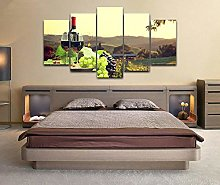 Canvas Print Wall Art Picture For Home Decor Wine
