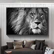 Canvas prints Decorative Animal Painting Lion