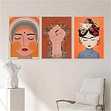 Canvas Prints No Frame 40x60cm 3Pieces Nordic