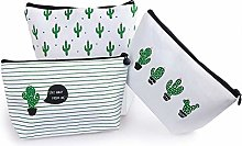 Canvas Stationery Pencil Pouch Case Large Capacity