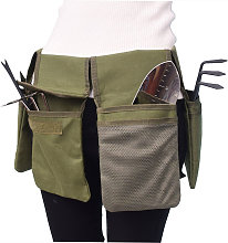 Canvas tool belt bag pocket tool storage belt Army