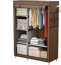 Canvas Wardrobe cabinets with Shelves and Shelves