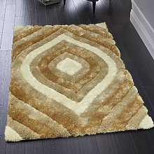 Canyon Netural Polyester Rug by Origins