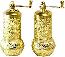 Cape Moda Turkish Brass and Steel Mini Refillable