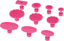 Car Auto Body Dent Repair Tool 10pcs Pink Pulling