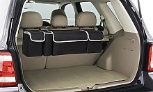Car Back Seat Storage Bag: Two