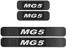 Car Carbon Fiber Door Sill Kick Plates for MG MG5,