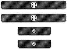 Car Carbon Fiber Door Sill Kick Plates for MG MG5