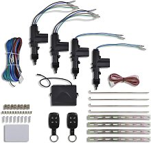 Car Central Door Lock Kit with 2 Normal Remote