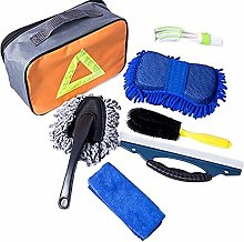 Car Cleaning Kit Car Wash Tools 7 Set with Bag