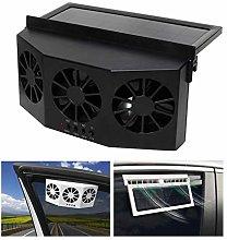 Car Cool Cooler Fan Ventilation Exhaust Solar &